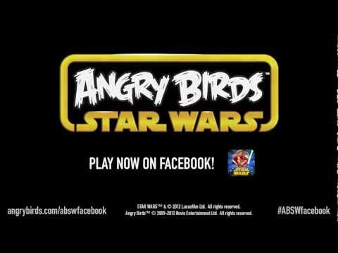 Now You Can Play Angry Birds Star Wars On Facebook