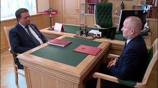 Губернатор Андрей Никитин и глава Батецкого района обсудили проблемы муниципалитета