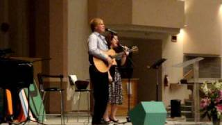 Heidi Joshua and Phil Spoelstra sing My Surrender