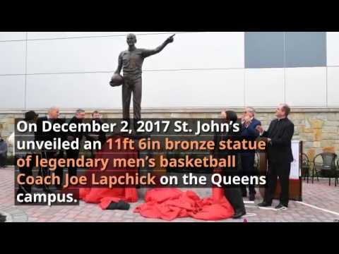 Unveiling of St. Johns Basketball Legend - Joe Lapchick