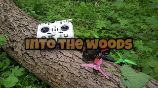 Into the woods with DroneJunkie Fpv