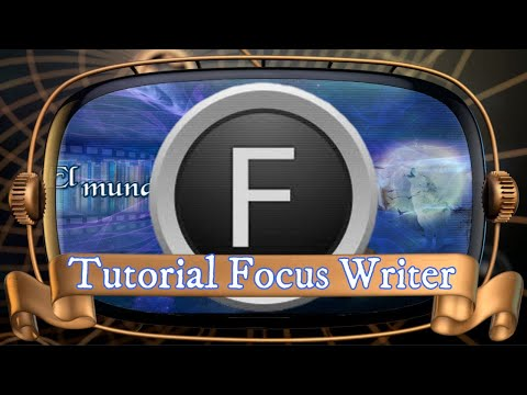 Tutoria Focus Writer para escritores