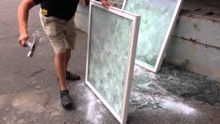 Impacted Rated Glass Bullet Proof Glass Secruity Glass Hurricane Glass Connecticut