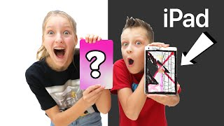 Which Sibling can Customize Their iPad the Best?