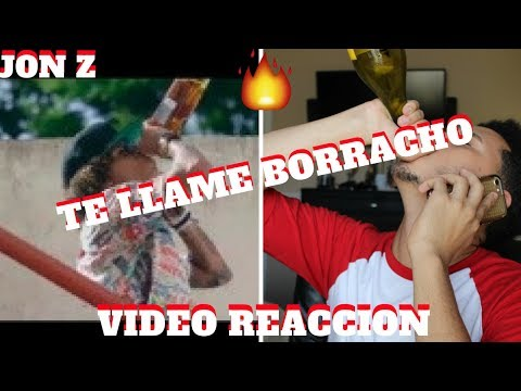 Jon Z x Darkiel x Boy Wonder CF - Te Llame Borracho (Official Video) | Reaccion