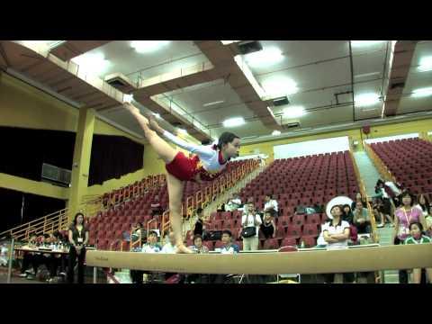 2011全港小學體操邀請賽 女子平衡木 03