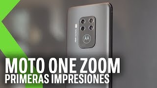 Moto One Zoom, primeras impresiones: Así es el primer móvil de Motorola con cuatro cámaras traseras