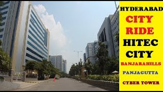 Hyderabad City Ride || Hitec City || Banjarahills || Panjagutta