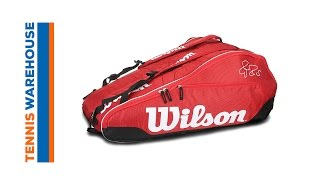 Wilson Federer Team III 12-Pack Bag video