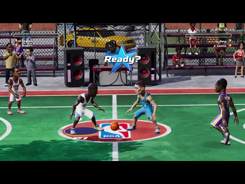 [Switch] NBA Playgrounds – Exhibition Gameplay (Direct-Feed Nintendo Switch Footage)