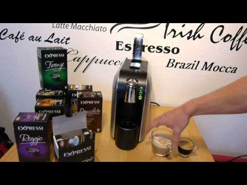 Aldi Expressi Kapselmaschine im Test (inklusive Zubereitung von Getränken)