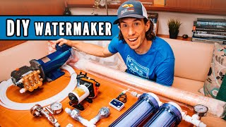 How To Make Water On A Sailboat (and How To Build Your Own Watermaker)  Ryan's Tech Corner #3