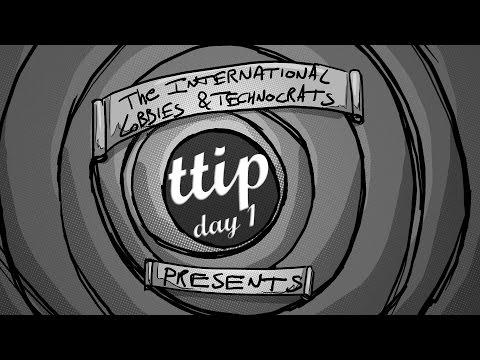 TTIP, primer día