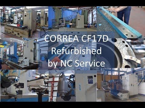 Retrofit der CORREA CF17D Brückenfräsmaschine durch NC Service