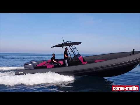VIDÉO. Essai moteur : le Smeralda 280 de Seawater, un navire haut de gamme destiné aux loisirs