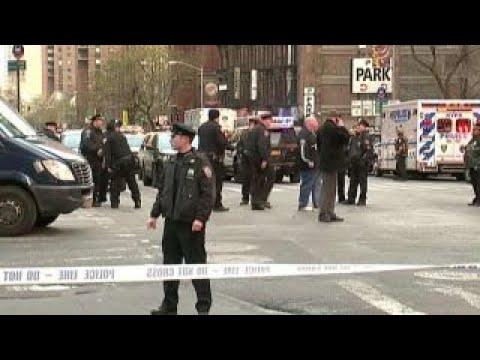 Authorities comb through evidence of New York bombing