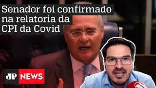 Rodrigo Constantino: 'Imprensa tenta resgatar um Renan Calheiros inexistente'J
