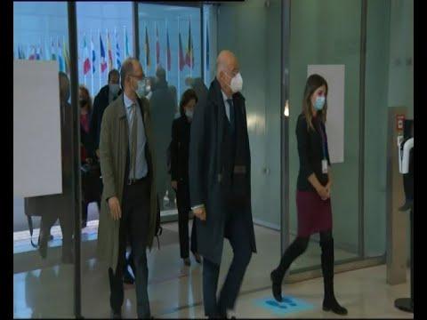 Δήλωση Υπουργού Εξωτερικών, Ν. Δένδια, με το πέρας του Συμβουλίου Εξωτερικών Υποθέσεων της ΕΕ
