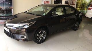 2017 Toyota Corolla Altis Facelift India - Walkaround Video