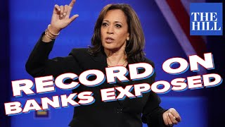 Author EXPOSES Kamala Harris'  Troubling Record On Banks In California