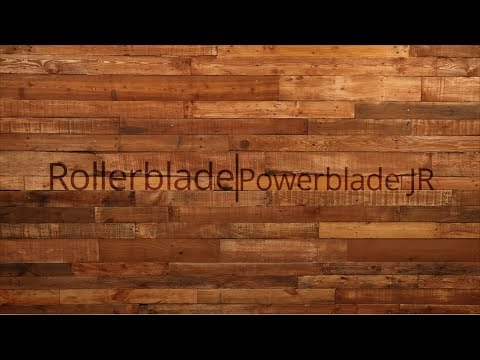 Video: 2018 Rollerblade Powerblade JR Kids Inline Skate Overview by InlineSkatesDotCom