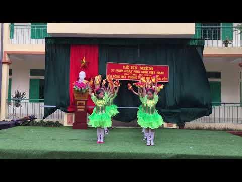 Phần thi 20/11/2019 của trò lớp 4A Trường Tiểu học và THCS Vũ Lễ