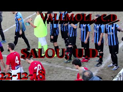 VALLMOLL, C.D. VS SALOU, U.D. 22/12/2018
