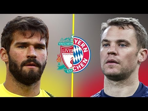 Alisson VS Neuer - Liverpool Wall VS Bayern Munich Wall - Amazing Saves - 2018