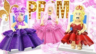 Making HER the PROM KING?! Roblox ROYALE HIGH 👑 w/ Princess BBPaws & Princess Cheridet