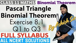 Basics and Derivation of Binomial Theorem, Pascal Triangle