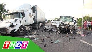 Tai nạn giao thông thảm khốc ở Quảng Nam do tài xế ngủ gật   THDT