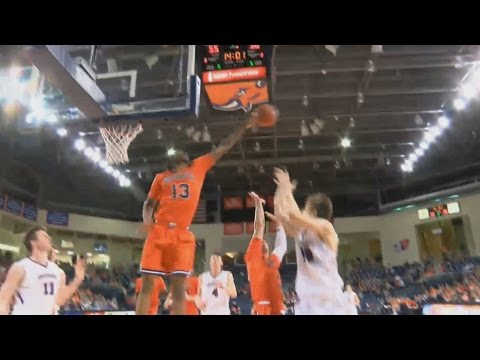 Bucknell Forward Bruce Moore Hustles & Swats Ball Out Of Bounds | CampusInsiders