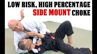 A High Percentage Low Risk Choke Submission from Sidemount