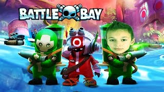 ЗЛЫЕ Катера от создателей Angry Birds игра Battle Bay Gameplay 5 frags  Official game by ROVIO