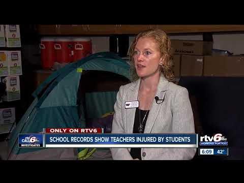 90% of teachers say schools, legislature need to address teacher injuries and safety