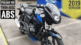 2019 BAJAJ PULSAR 150 ABS TWIN DISC DETAILED REVIEW   MILEAGE   TOP SPEED   PRICE