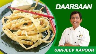 Honey Noodles With Ice Cream Dessert Recipe By Sanjeev Kapoor   Daarsaan