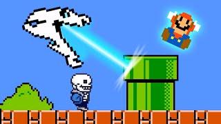 Sans in Super Mario Bros.