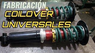 DIY Fabricando Coilover Universal - Adaptando Suspensión