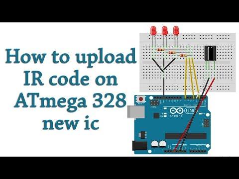 IR Remote Control library for ATmega8 - смотреть онлайн на