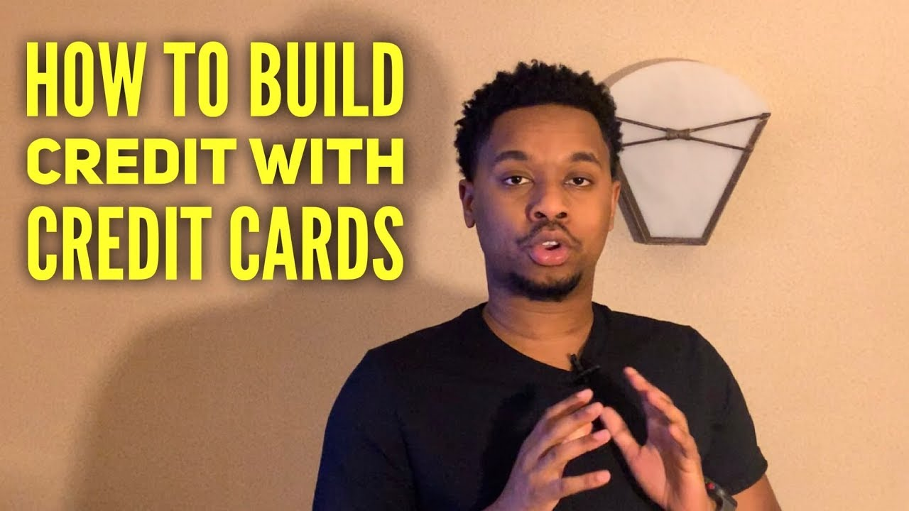 How To Develop Credit With Credit Cards thumbnail