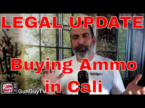 Update on California Ammunition Laws for Jan 1 2018
