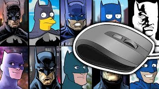 COLOR WITH A MOUSE CHALLENGE! | COLORING MY 10 STYLES OF BATMAN ART CHALLENGE PIECE!