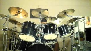 Fates Warning - Leave The Past Behind drum cover