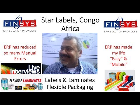 Star Labels India, Happiness with Finsys ERP Label Manufacturing