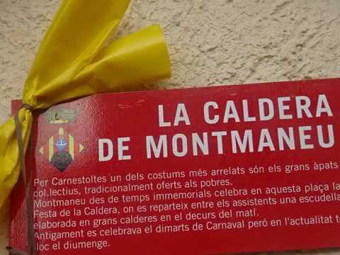 2018 MONTMANEU  FESTA DE LA CALDERA
