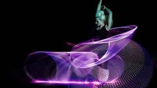 Amazing Hula Hoop Dancer Lisa Lottie Spins 6 Phoenix Hoops