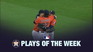 9/22/19: Astros clinch division title in Plays of the Week