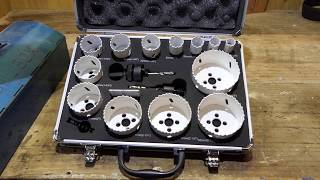 Makita Hole Saw Set D-47307   What's inside this set???