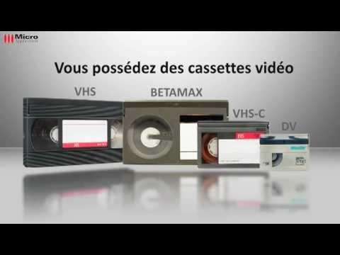 comment demonter une cassette vhs